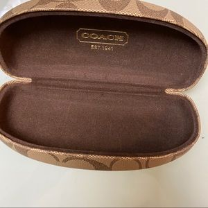 New coach glasses sunglasses case